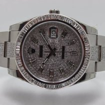 Rolex Datejust II Diamond Set Baguette Bezel