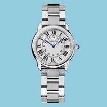 Cartier Ronde Solo de Cartier neu 2021 Quarz Uhr mit Original-Box und Original-Papieren W6701004