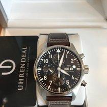 IWC Fliegeruhr Chronograph neu 2020 Automatik Chronograph Uhr mit Original-Box und Original-Papieren IW377713