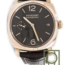 Panerai Radiomir 3 Days 47mm Pink Gold Brown Dial pam515 NEW