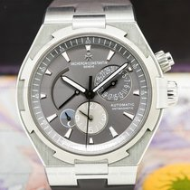 Vacheron Constantin 47450/000W-9511 Overseas Dual Time SS Grey...
