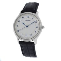Tourneau Authentic Mens  Classic 30020 A Steel Automatic Date