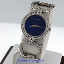 Chopard Classic pre-owned 26mm Blue Year White gold