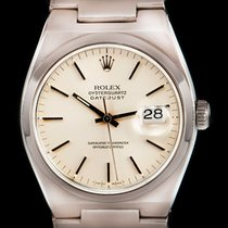 Rolex Datejust Oysterquartz tweedehands 36mm Staal