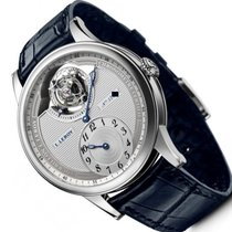 L.Leroy new Manual winding 42mm White gold Sapphire crystal