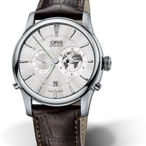 Oris Artelier Worldtimer Steel 42mm Silver No numerals United States of America, Texas, FRISCO