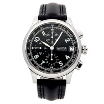 Eberhard & Co. Chronograph 43mm Automatic pre-owned Traversetolo Black
