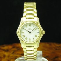 Ebel 1911 pre-owned 26.2mm Mother of pearl Yellow gold