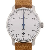 Meistersinger Steel 40mm Automatic new