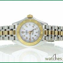 Tudor Monarch Gold/Steel 27mm White No numerals