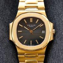 Patek Philippe 3800 Or jaune 1985 Nautilus 37mm occasion
