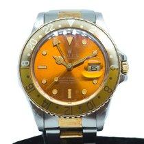 Rolex GMT-Master Gold/Steel 40mm Black No numerals Singapore, Singapore