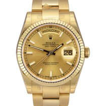 Rolex Day-Date 36 Yellow gold 36mm Champagne United Kingdom, Manchester