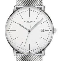 Junghans Steel 38mm Quartz 058/4821.44 new