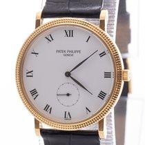 Patek Philippe Calatrava 3919J Very good Yellow gold 33mm Manual winding