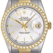 Rolex Men's Rolex Datejust Steel & Gold 2-Tone Watch 16233...