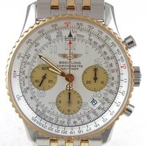 Breitling 2005 Navitimer Chronograph Two Tone With White Dial