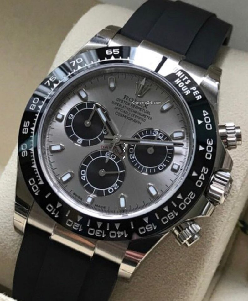 Porsche Pre Owned >> Rolex 116519 LN Cosmograph Daytona Oysterflex for $35,723 for sale from a Seller on Chrono24