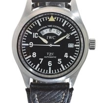 IWC | A Stainless Steel Automatic Dual Time Zone Wristwatch...