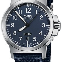 Oris BC3 Steel 42mm Blue United States of America, New York, Airmont