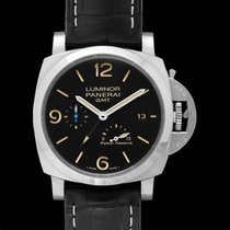 Panerai Luminor 1950 3 Days GMT Power Reserve Automatic Steel 44mm Black United States of America, California, San Mateo