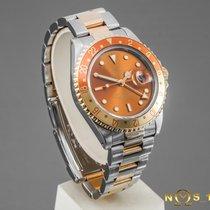 Rolex GMT-Master II Guld/Stål 40mm Brun Ingen tal