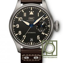 IWC Titanium Automatic Black Arabic numerals 46.2mm new Big Pilot