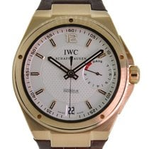 IWC Rose gold Automatic Silver 45.5mm pre-owned Big Ingenieur