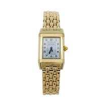 Jaeger-LeCoultre Or jaune Remontage manuel Argent Arabes 28mm occasion Reverso Duetto