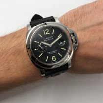 Panerai Luminor Marina Automatic Сталь 44mm Чёрный Aрабские