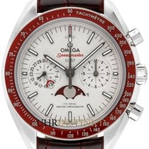Omega Speedmaster Professional Moonwatch Moonphase 304.93.44.52.99.001 Νέα Πλατίνα 44.2mm Αυτόματη