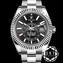 Rolex Sky-Dweller Steel 42mm Black No numerals United States of America, New York, NEW YORK
