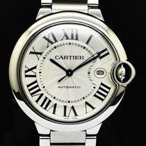 Cartier Ballon Bleu 42mm Сталь 42mm Cеребро Римские