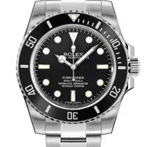 Rolex Submariner (No Date) новые 2018 Автоподзавод Часы с оригинальными документами и коробкой 114060-0002