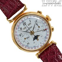 Lucien Rochat Or jaune 36mm Remontage automatique occasion