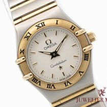 Omega Constellation Ladies Gold/Steel 23mm