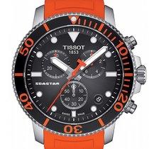 Tissot Seastar 1000 Zeljezo 45.5mm Crn