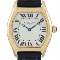Cartier Tortue Oro amarillo 34mm Plata