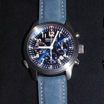 Bremont ALT1-P Pilot Steel 43mm Blue United Kingdom, L31 5pa