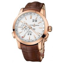 Ulysse Nardin Perpetual Manufacture Rose gold 43mm Silver
