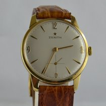 Zenith Yellow gold 34mm Manual winding Zenith stellina pre-owned