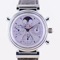 IWC Da Vinci Perpetual Calendar Platin 39mm Silber Keine Ziffern Deutschland, Langenfeld