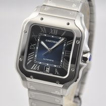Cartier new Automatic 39.8mm Steel Sapphire crystal