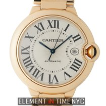 Cartier Ballon Bleu 42mm Rose gold 42mm Silver Roman numerals United States of America, New York, New York