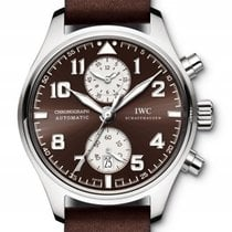IWC IW387806 Steel Pilot Spitfire Chronograph 43mm pre-owned United States of America, New York, Greenvale