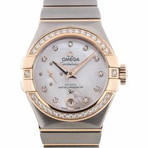 Omega Constellation Co-Axial Master Chronometer Small Second...