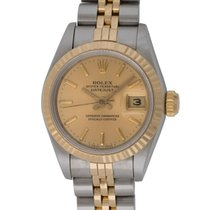 Rolex : Ladies Datejust 26mm :  69173 :  18k Gold &...