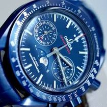 Omega SPEEDMASTER MOONWATCH  CO-AXIAL MOONPHASE CHRONO Blue