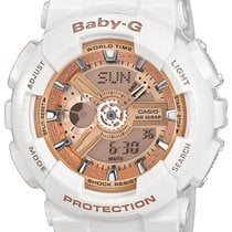 Casio BA-110-7A1ER Damen Baby-G Chronograph 10 ATM 43 mm