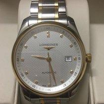 Longines Master Collection L2.793.5.97.7 Longines MASTER Argento Oro Diamanti 40mm new